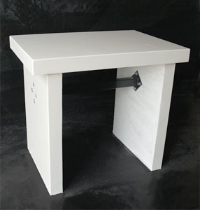 Merveilleux 31 Or 36 Inches Tall. The Marble Balance Tables ...
